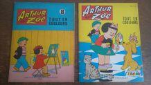 Lot 2 Albums Arthur et Zoé 1965