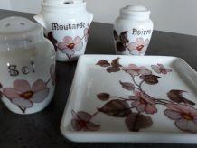 Service à condiments Porcelaine Florence LIMOGES