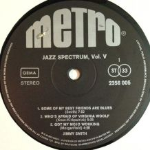 JIMMY SMITH - Jazz Spectrum Vol.5