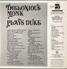 Thelonius Monk plays Duke
