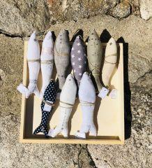 poisson en tissus