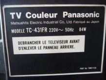TV PANASONIC - AVEC TELECOMMANDE INTEGRÉE-LA 1ère! COLLECTOR