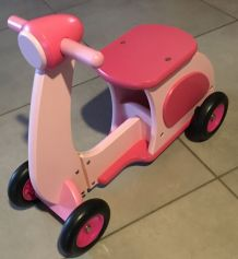 Porteur scooter moto Trotteur Moulin Roty TBY