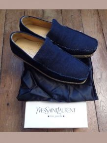 Mocassins / Espadrilles En Jean - 41- Yves Saint Laurent