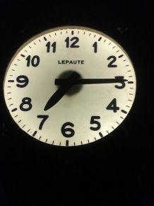 Grande horloge de gare Lepaute 1960