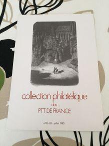 Collection philatélique 1983