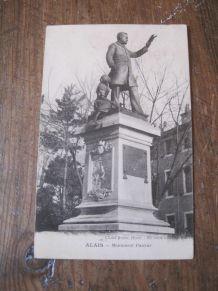 CARTE POSTALE ANCIENNE  30 - ALES /30 -ALAIS  MONUMENT