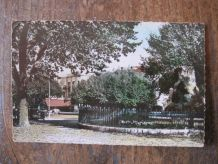 CARTE POSTALE ANCIENNE  30 -  ALES GARD  PLACE GABRIEL PERI