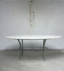 Table marbre Pierre Vandel x Florence Knoll Roche Bobois