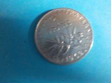 1 pièce de 1 franc Semeuse 1962