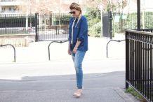 Jeans avec perles neuf