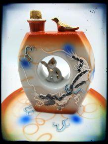 Carafe et plateau à saké