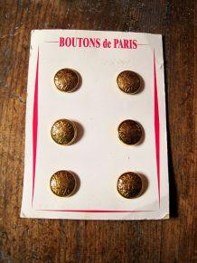 lots de 18  boutons ancien .BOUTONS DE PARIS