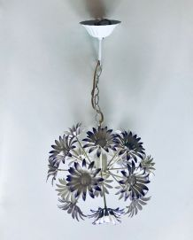 Suspension luminare vintage bouquet de fleurs
