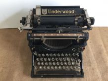 Machine à écrire UNDERWOOD, années 1930