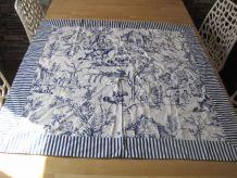 Tenture murale. tissu panneau textile de la marque Strauss