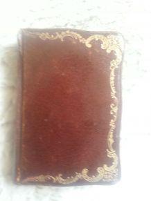 Missel du  Sacré Coeur vintage couverture cuir broché