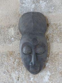 masque bois H37cm