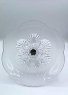 Coupe à fruit en cristal