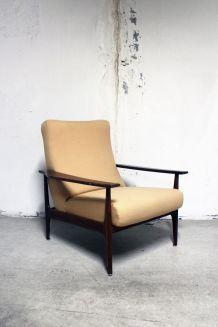 Fauteuil scandinave danois 1960's