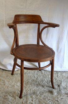 Fauteuil bois courbé – début XXème