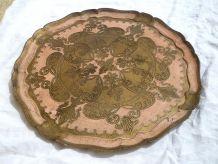 plateau  ancien  style florentin , italy