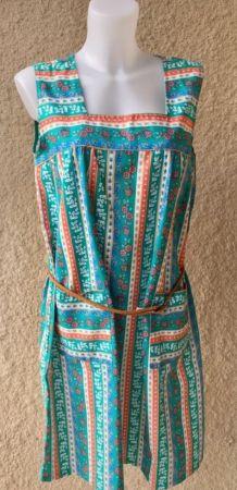 La robe tablier vintage