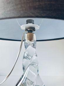 Lampe en cristal de Sèvres