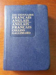 Dictionnaire de poche Francais Anglais vintage 1952