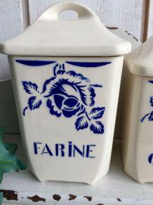 Serie de pots à condiments Badonviller