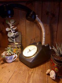 Lampe téléphone et baromètre/lampe à poser/lampe de table