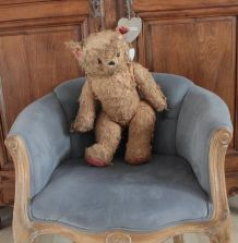 Teddy bear ours en peluche ancien