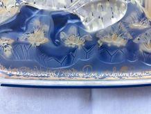 Plateau rosenthal en verre designer Bjorn wiinblad