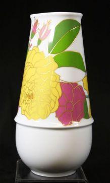 Vase floral conique porcelaine rosenthal