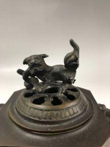 Brûleur d encens en bronze