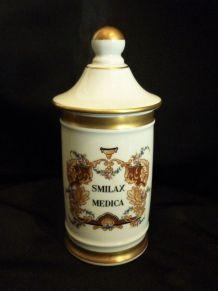 Pot à pharmacieen porcelaine de Couleuvre