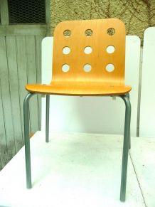 """chaise ikea vintage 1999  """"RARE"""" bois/ métal - bon état"""