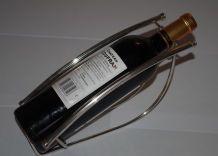 présentoir à bouteille argenterie