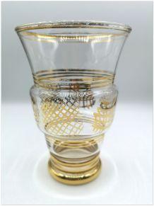 vase en verre années 60