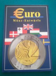 Coffret spécimen Euros
