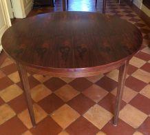 Table en palissandre vintage