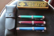 Harley Davidson stylo, plume, étui