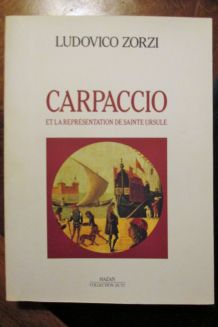 Carpaccio  sainte Ursule de Ludovico Zorzi