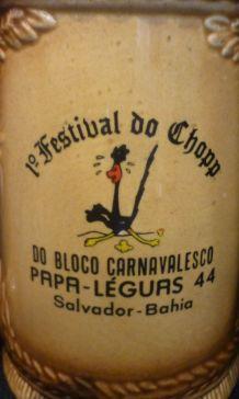 Chope à bière Brésilienne collector
