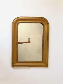 Miroir Louis Philippe doré 60x82cm