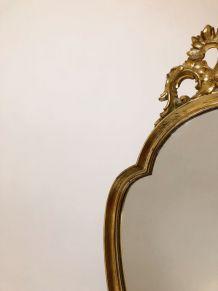 Miroir ancien doré 45x73cm