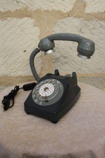 """Lampe à poser récup' vintage """"Téléphone 5"""""""
