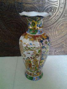 Vase céramique  chinois 35 cm