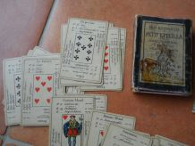 ancien petit Etteilla,tarot divinatoire 1890
