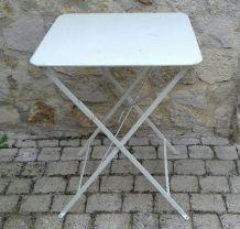 Table bistrot  pliante fermob